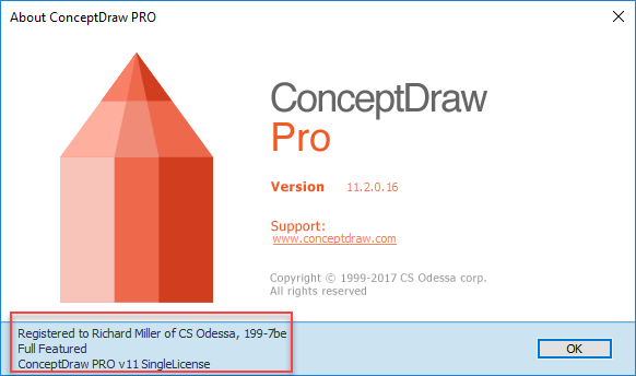 Install ConceptDraw PRO on  PC