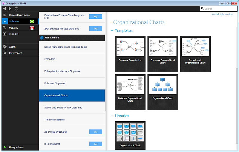 ConceptDraw STORE for Windows