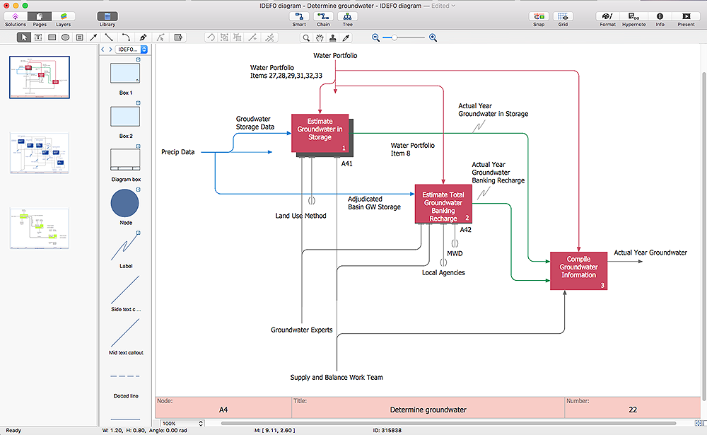 Rack diagram template