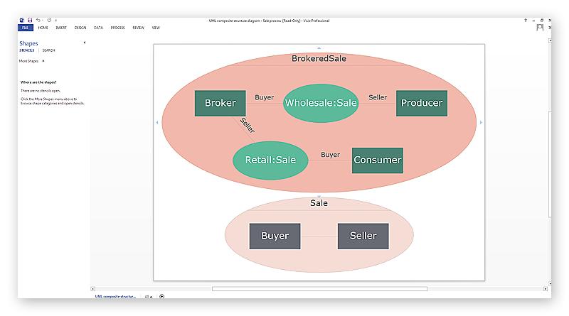 ConceptDraw file to MS Visio  (vsdx)