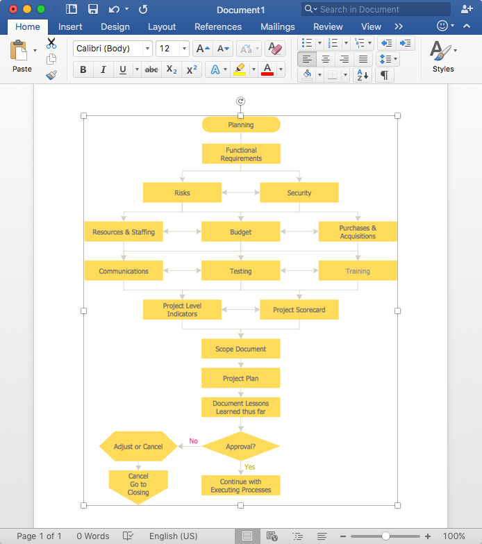 add-business-diagram-to-word