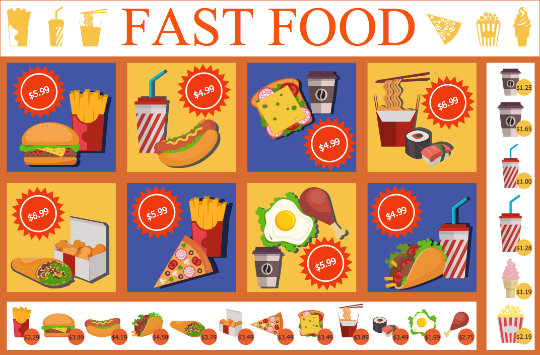 conceptdraw-food-court-solution