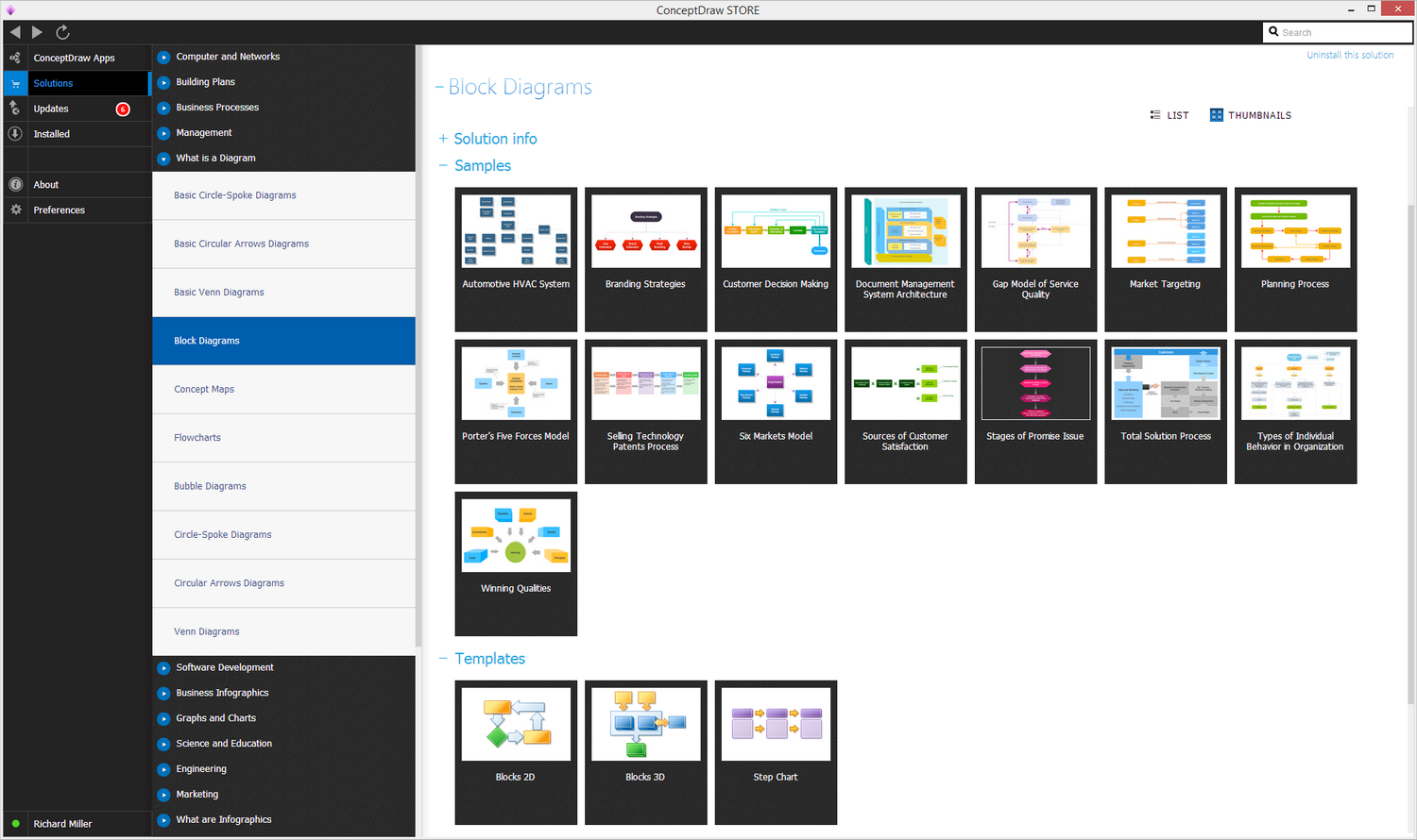 Block Diagrams Solution in ConceptDraw STORE