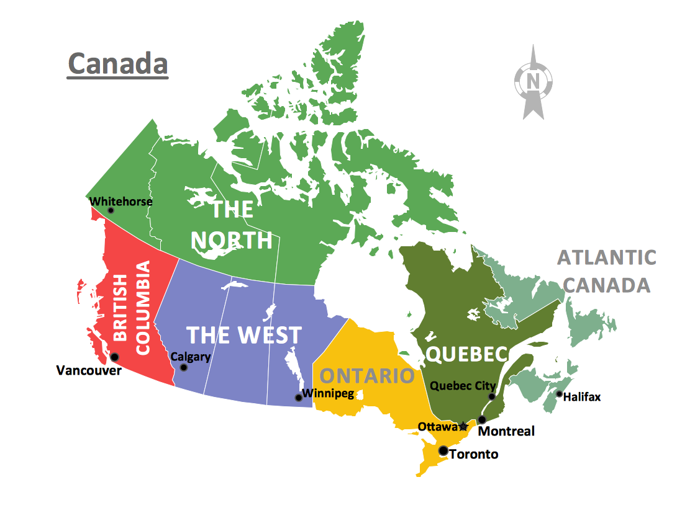 Geo Map - Canada