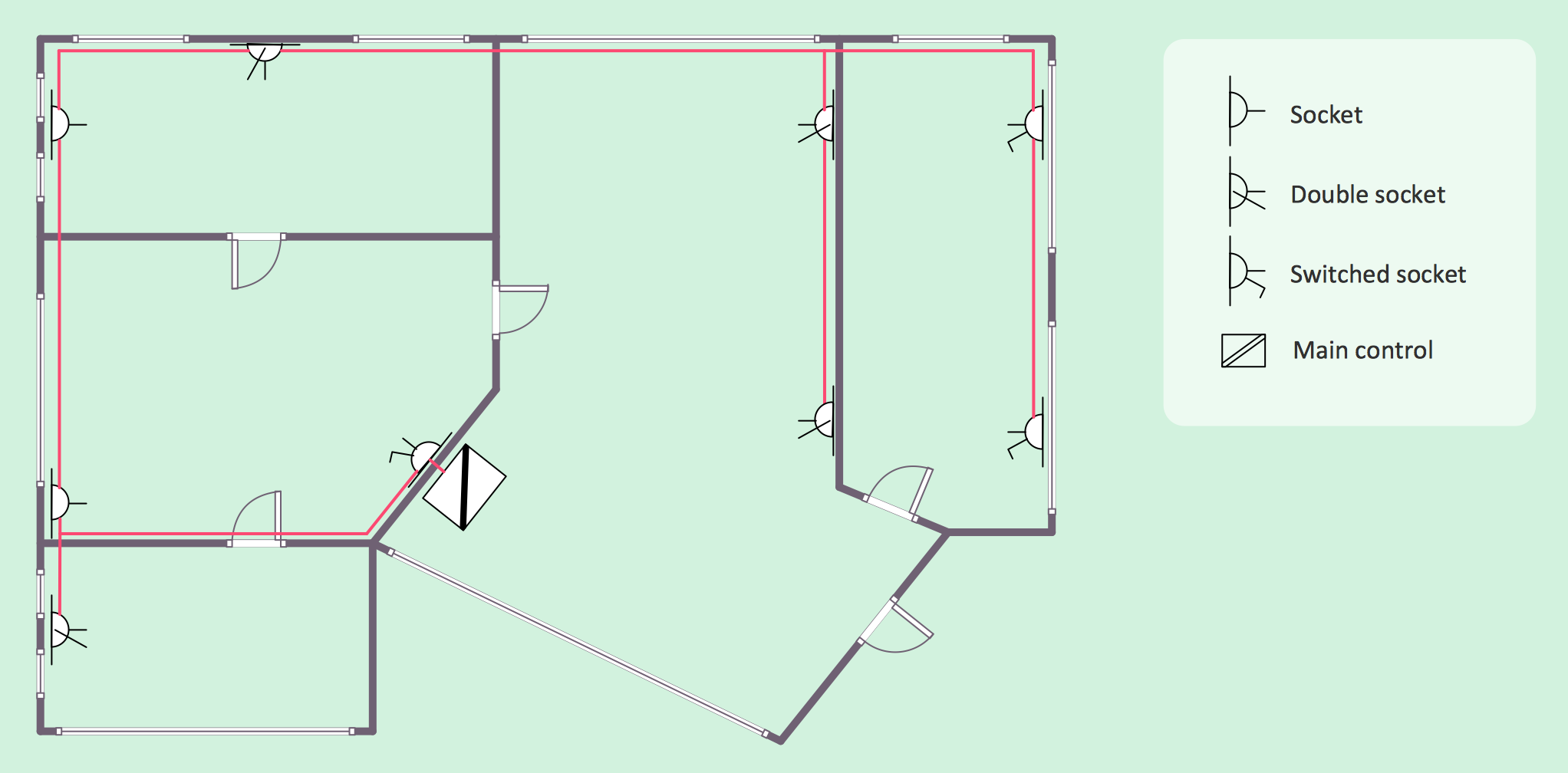 Electrical House Plan