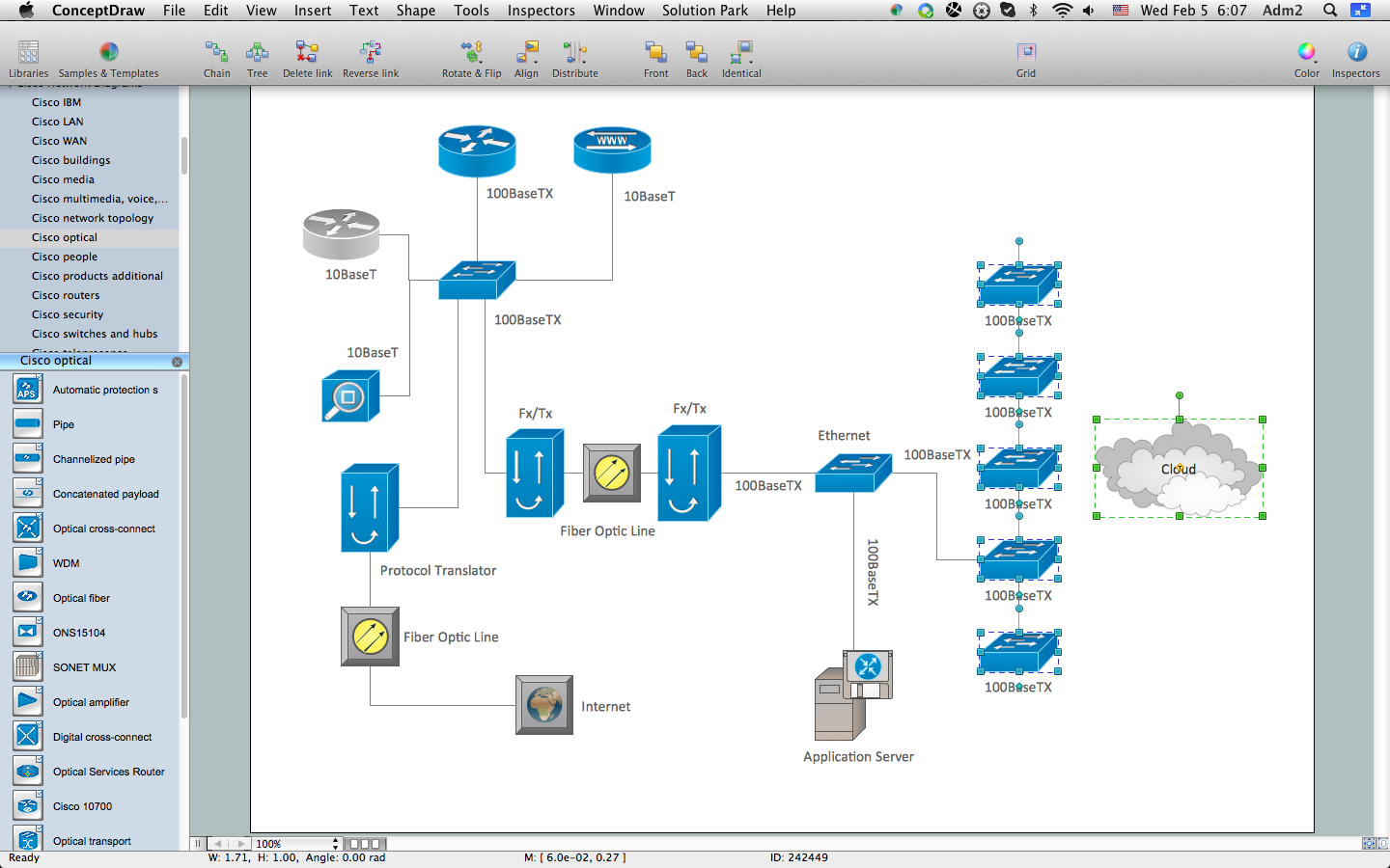 How to Create Cisco Network Diagram