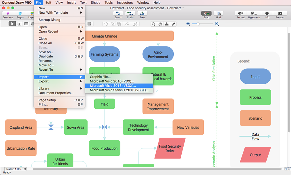 Open Visio on Mac