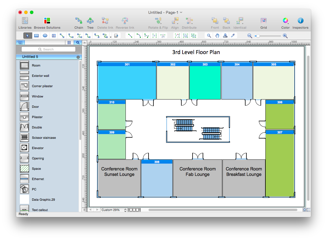 how to convert ms visio 2010 vsd file to conceptdraw pro v10 - Visio 2010 For Mac
