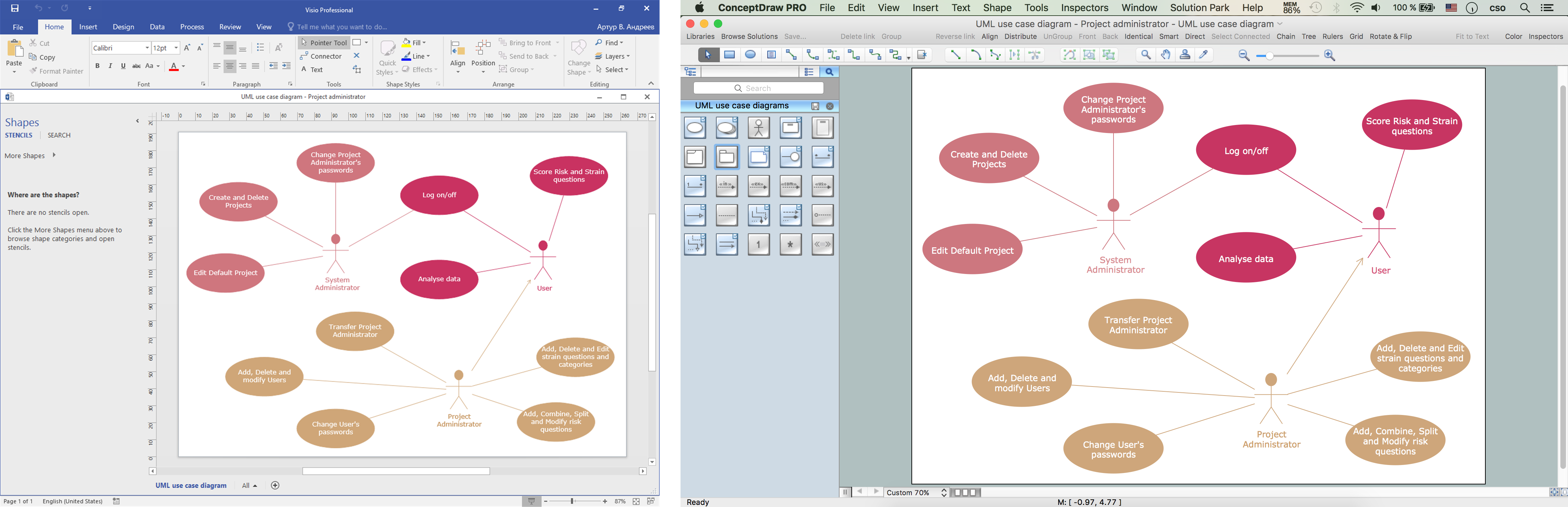 MS Visio 2016 converted into ConceptDraw DIAGRAM title=