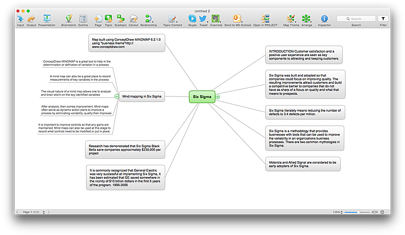 Import PowerPoint to ConceptDraw MINDMAP