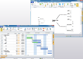 Project management tool. Example of MindMap in project management tool