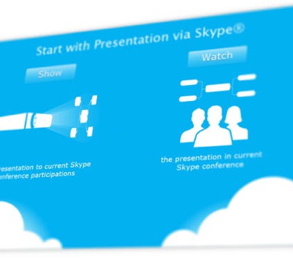 mindmap collaboration, presentation via skype, great professional business presentation