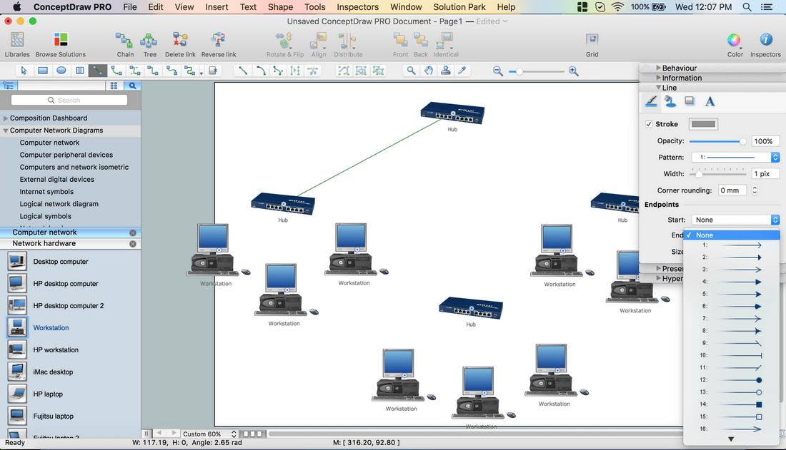 How To Create Network Topology Diagram