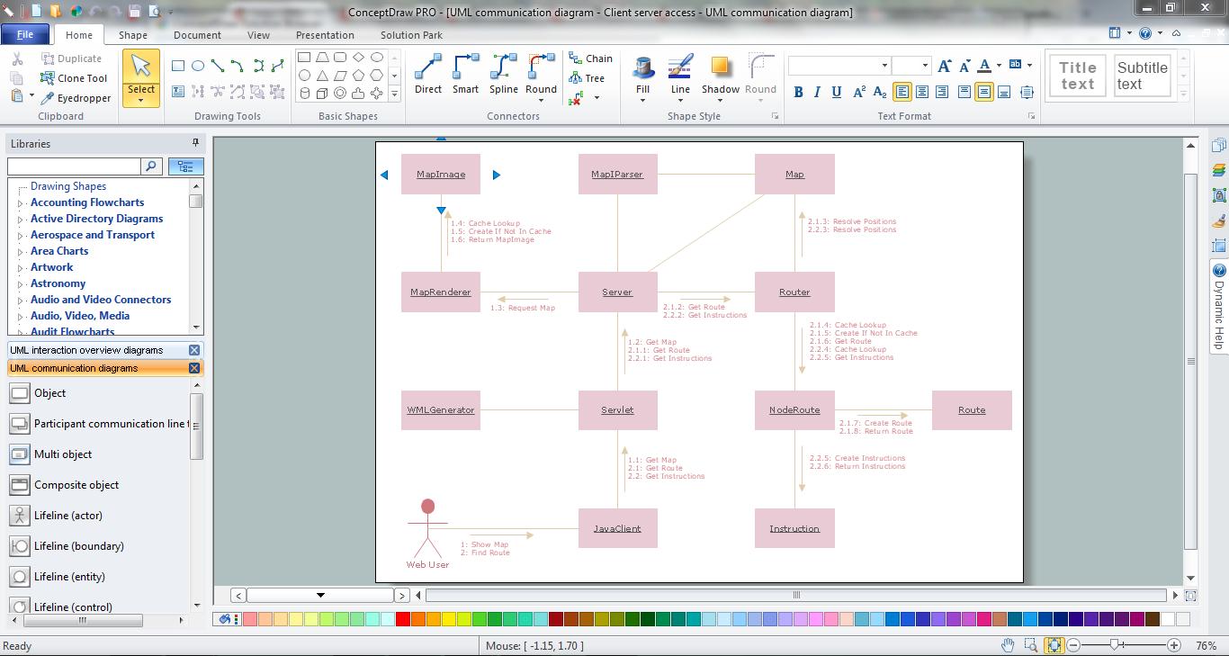 Online Diagram Tool