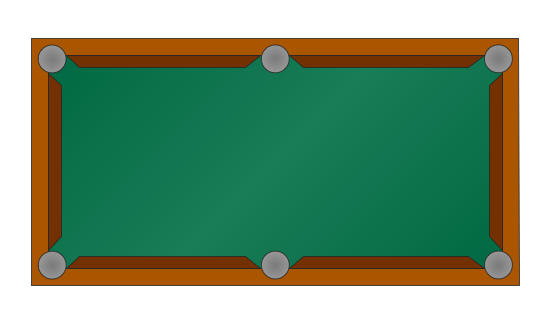 Symbol for Pool Table for Floor Plans