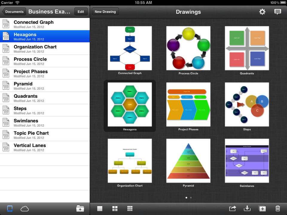 top ipad diagramming apps touchdraw