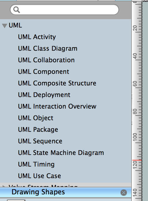 UML libraries