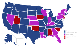 U.S. thematic map, USA, United States of America, U.S.A., United States, US, U.S., America,