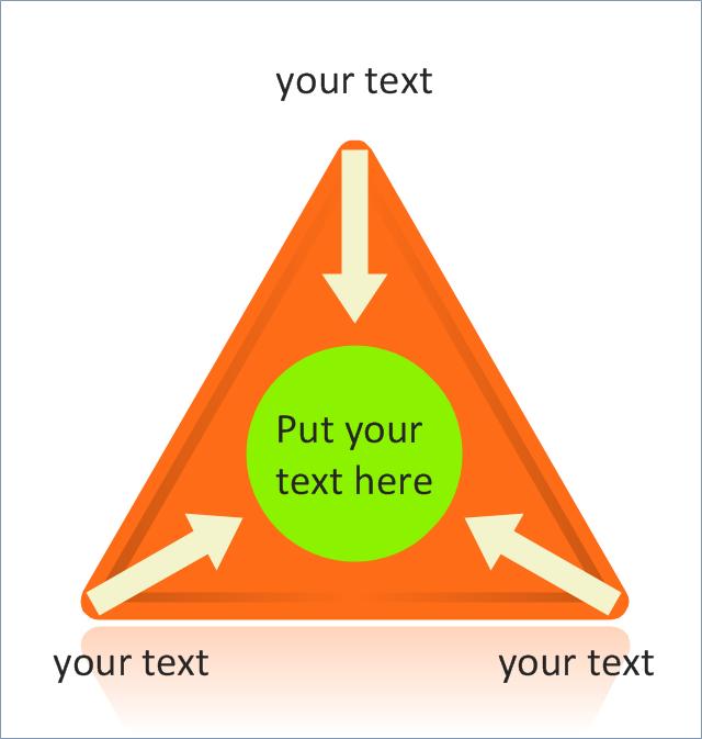Triangle chart with arrows,  triangular scheme, triangular diagram, triangular chart, triangle scheme, triangle diagram, triangle chart, pyramid diagram