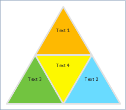 Segmented pyramid diagram template ccuart Gallery