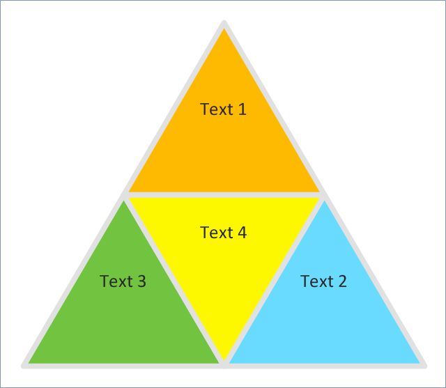 Segmented pyramid chart,  triangular scheme, triangular diagram, triangular chart, triangle scheme, triangle diagram, triangle chart, pyramid diagram