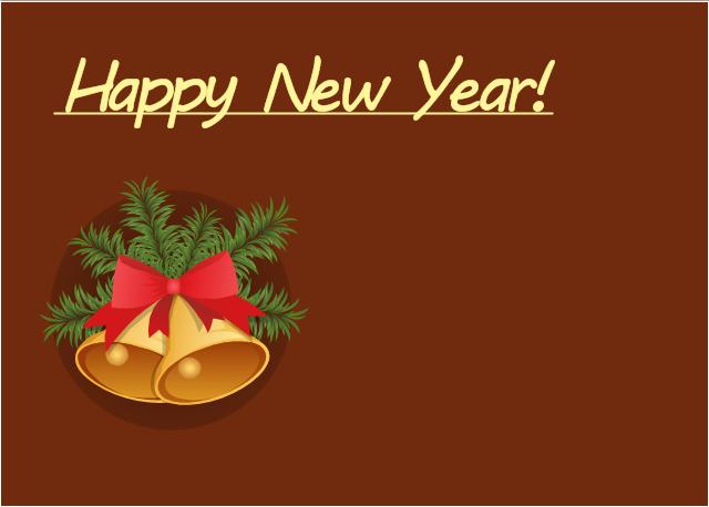 Vector illustration, Christmas bells,