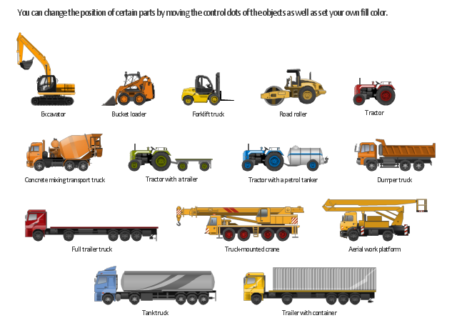Design Elements - Industrial Vehicles