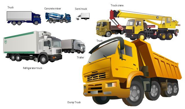 truck vehicle clipart rh conceptdraw com Gear Clip Art for Visio Data Backup Clip Art