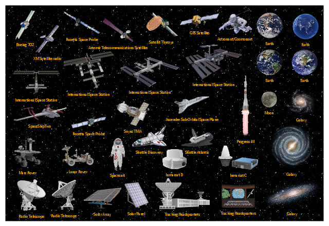 Page1,  tracking headquarters, Thuraya, telecommunications satellite, sub-orbital space plane, SS2, spacesuit, SpaceShipTwo, spaceman, space tourist, space probe, Soyuz TMA, solar panel, solar battery, solar array, shuttle, satellite, Rozetta, rocket, radio telescope, radio, Progress M, night sky, Moon, mission control, Mars rover, Lunar rover, ISS, International Space Station, Inmarsat D, Inmarsat C, GPS, galaxy, Earth, Discovery, cosmonaut, Boeing 702, Atlantis, astronaut, Ascender, Artemis