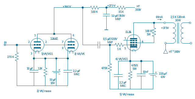 Circuit Diagram El 34 Schematics