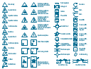 VHF, UHF, SHF symbols, slide screw tuner, ruby laser, generator, xenon lamp, pumping source, ruby laser, generator, rotary joint, rectangular waveguide, resonator, resistance, phase shifter, matched, nonreciprocal, directional, phase shifter, multistub tuner, three stubs, mode suppressor, mode filter, maser amplifier, maser, line stretcher, male, connector, line stretcher, female, connector, laser generator, laser, isolator, nonreciprocal device, inductive susceptance, inductive reactance, inductance capacitance, circuit, zero reactance, resonance, inductance capacitance, circuit, zero reactance, infinite susceptance, resonance , inductance capacitance, circuit, infinite reactance, zero susceptance, resonance , inductance capacitance, circuit, infinite reactance, resonance, gyrator, frequency filter, low-pass, frequency filter, high-pass, frequency filter, band-stop, frequency filter, band-pass, frequency filter, field polarization rotator, field polarization amplitude modulator, ferrite bead ring, equivalent shunt, guided transmission path, equivalent series, guided transmission path, discontinuity, directional coupler, conductance, circulator, reversible, direction, circulator, fixed, direction, capacitive susceptance, capacitive reactance, balun, E-H tuner,
