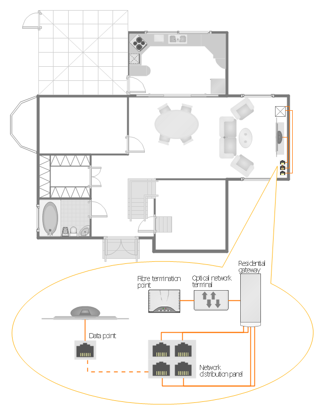 HAN Layout Floorplan, Window, Casement, Toilet, Switch, Straight Staircase,  Square