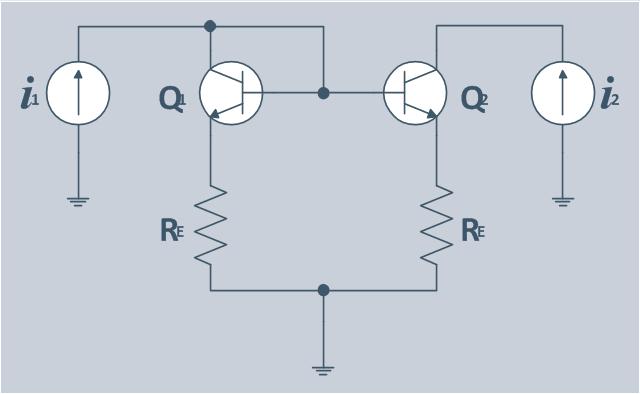 Circuit diagram, junction, indicator, meter, galvanometer, ground connection, ground, fixed resistor, resistor, bipolar transistor, bipolar junction transistor, BJT, NPN,