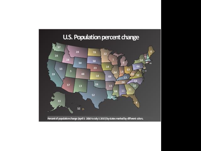 Geospatial dashboard, USA,