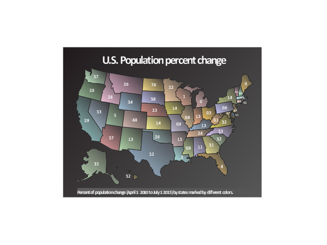 Geospatial dashboard,  USA, thematic map, country map, continent map contour