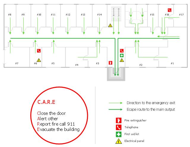 Emergency Evacuation Diagrams Qbm Asbestos Dilapidation Report Template Eliolera ComExamples