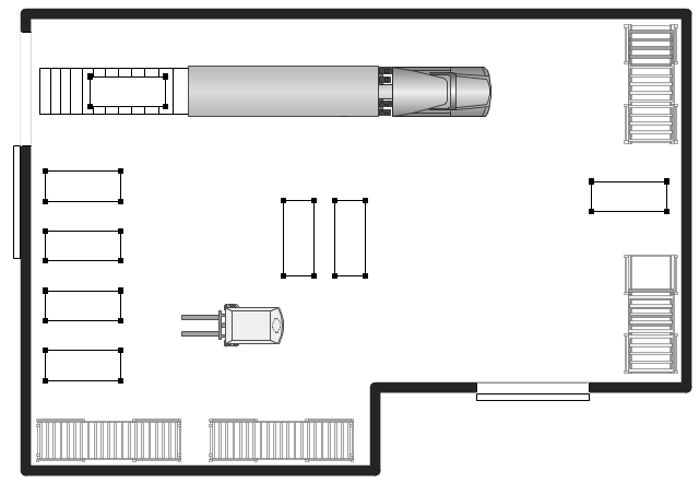 Shipping receiving and storage plant layout plans for Draw layout warehouse