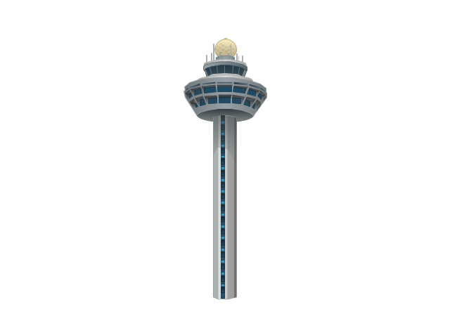 Airport control tower, airport, control tower,