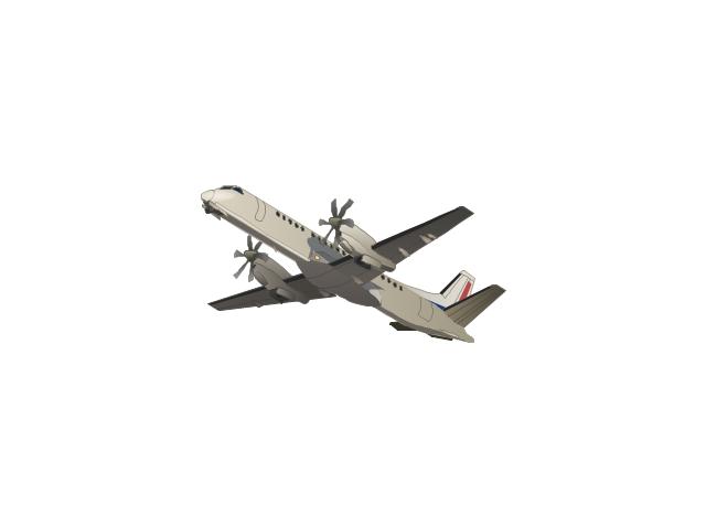 Aircraft  Vector stencils library   Telemunication