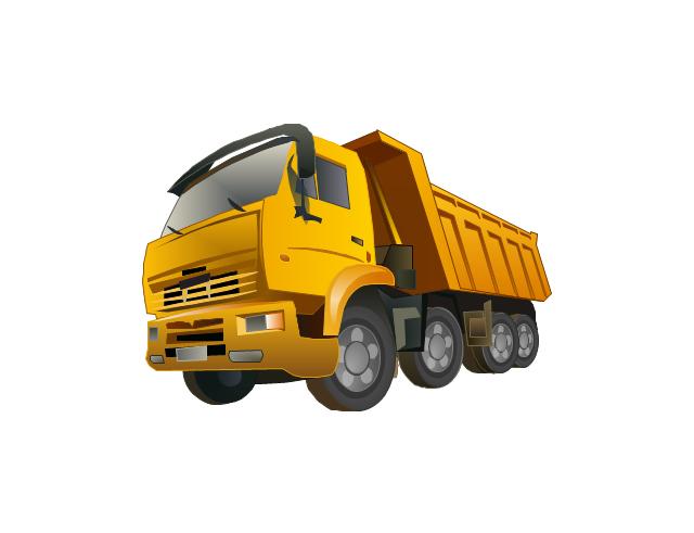 Dump truck, dumper, dump truck,
