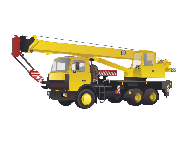 Truck crane, truck crane, crane,