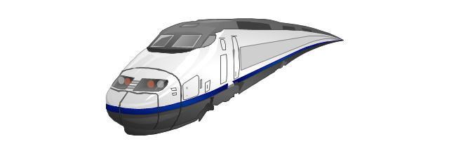 Train, train,