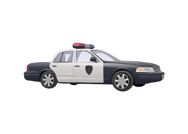 Police car, police car,