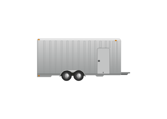 Semi-trailer, trailor,