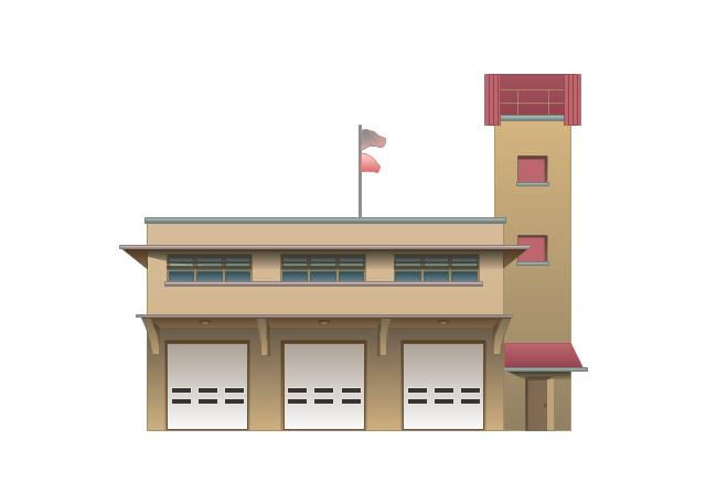 Fire Station, fire station,