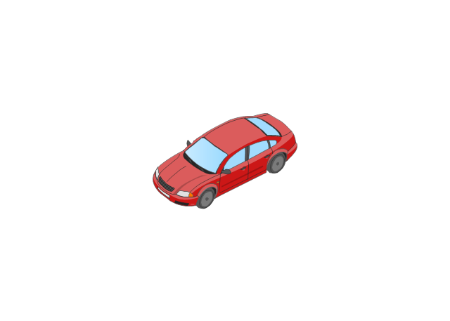 Car isometric, car,