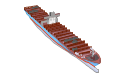 Container ship, container ship,