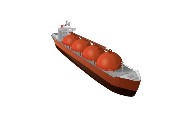 Gas ship, gas ship,