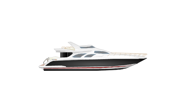 aerospace and transport watercraft vector stencils library rh conceptdraw com Boat Wiring Diagram for Dummies Yacht Schematics