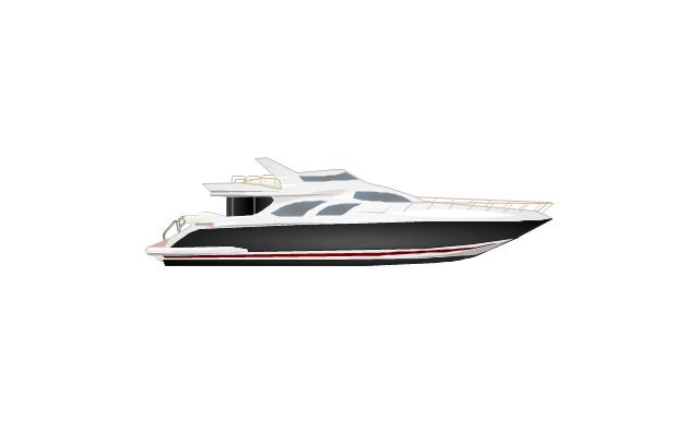 Motor yacht, yacht,